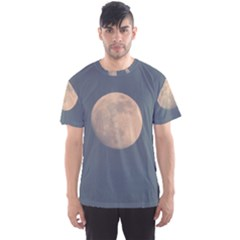 The Moon And Blue Sky Men s Sport Mesh Tee by picsaspassion