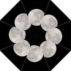Full Moon At Night Hook Handle Umbrellas (medium) by picsaspassion