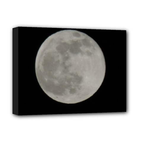 Close To The Full Moon Deluxe Canvas 16  X 12   by picsaspassion