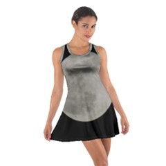 Close To The Full Moon Cotton Racerback Dress by picsaspassion