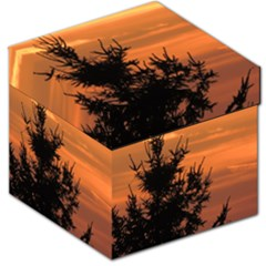 Christmas Tree And Sunset Storage Stool 12