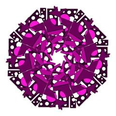 Something Purple Straight Umbrellas by Valentinaart