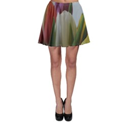 Colored By Tulips Skater Skirt by picsaspassion