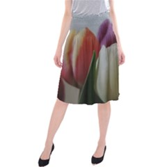 Colored By Tulips Midi Beach Skirt by picsaspassion
