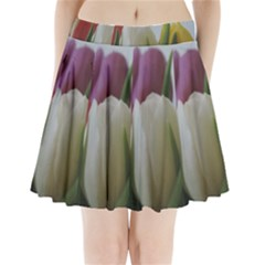 Colored By Tulips Pleated Mini Skirt by picsaspassion