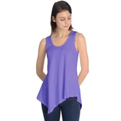 Lilac   Purple Color Design Sleeveless Tunic by picsaspassion