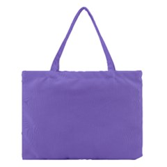 Lilac   Purple Color Design Medium Tote Bag by picsaspassion