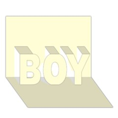 Yellow Color Design Boy 3d Greeting Card (7x5) by picsaspassion