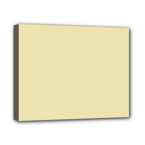 Gold Yellow Color Design Canvas 10  X 8  by picsaspassion