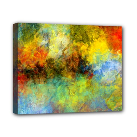 Lagoon Canvas 10  X 8  by theunrulyartist