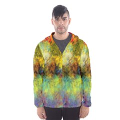 Lagoon Hooded Wind Breaker (men) by theunrulyartist