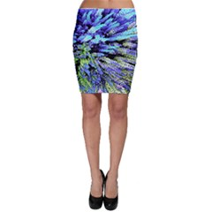 Colorful Floral Art Bodycon Skirt by yoursparklingshop