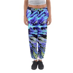 Colorful Floral Art Women s Jogger Sweatpants by yoursparklingshop