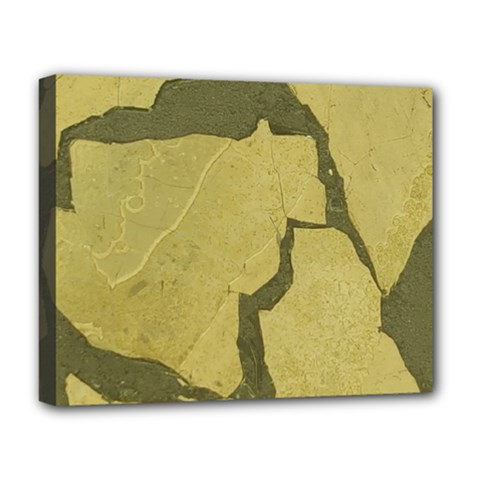 Stylish Gold Stone Deluxe Canvas 20  X 16   by yoursparklingshop