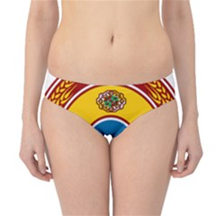 National Emblem Of Turkmenistan, 1992 2000 Hipster Bikini Bottoms by abbeyz71