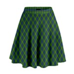 Muir Tartan Skirt - High Waist Skirt