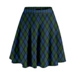 Campbell Tartan Skirt - High Waist Skirt