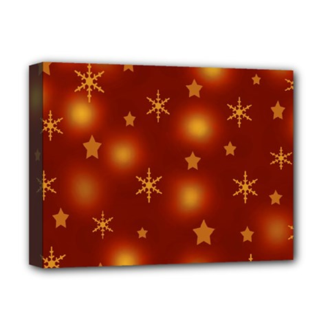 Xmas Design Deluxe Canvas 16  X 12   by Valentinaart