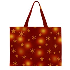 Xmas Design Zipper Large Tote Bag by Valentinaart