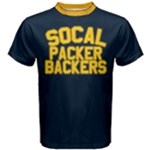 Blue and Gold So. Cal Packer Backers Tshirt - Men s Cotton Tee