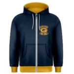 Blue and Gold So. Cal Packer Backers Zip Hoodie - Men s Zipper Hoodie