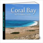 coral bay - 8x8 Photo Book (20 pages)