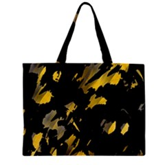 Painter Was Here   Yellow Mini Tote Bag by Valentinaart