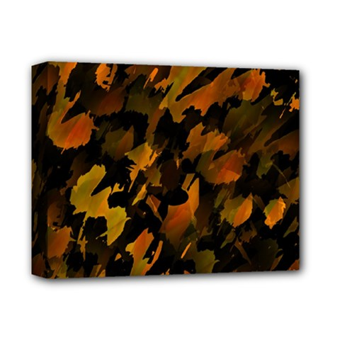 Abstract Autumn  Deluxe Canvas 14  X 11  by Valentinaart