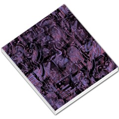 Purple Town Small Memo Pads by Valentinaart