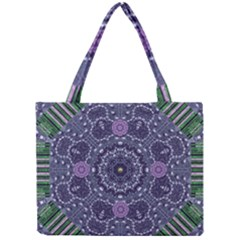 Star Of Mandalas Mini Tote Bag by pepitasart