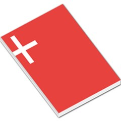 Flag Of Canton Of Schwyz Large Memo Pads