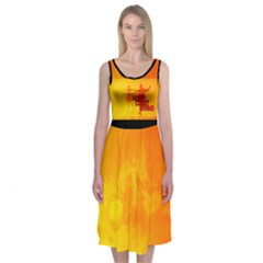 Wcs Midi Sleeveless Dress by RespawnLARPer