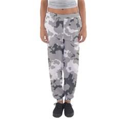 Winter Camouflage Women s Jogger Sweatpants