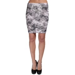 Winter Camouflage Bodycon Skirt