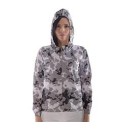 Winter Camouflage Hooded Wind Breaker (women)