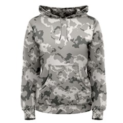 Winter Camouflage Women s Pullover Hoodie