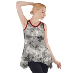 Winter Camouflage Side Drop Tank Tunic
