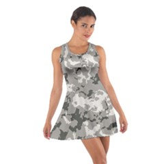 Winter Camouflage Cotton Racerback Dress