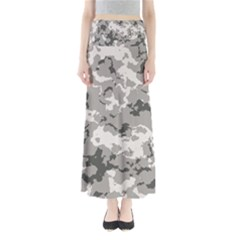 Winter Camouflage Maxi Skirts