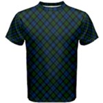 Campbell Tartan Man s T Shirt - Men s Cotton Tee