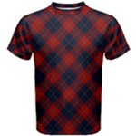 McKnight Tartan Argyle Men s T Shirt - Men s Cotton Tee