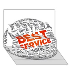 Best Service You Rock 3d Greeting Card (7x5)