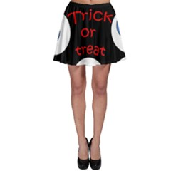 Trick Or Treat  Skater Skirt by Valentinaart