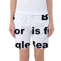 B Is For Beagle Women s Basketball Shorts by TailWags