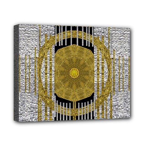 Silver And Gold Is The Way To Luck Canvas 10  X 8  by pepitasart