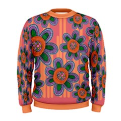 Colorful Floral Dream Men s Sweatshirt by DanaeStudio