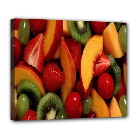Fruit Salad Deluxe Canvas 24  X 20   by AnjaniArt