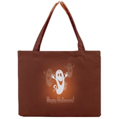 Funny Halloween Mini Tote Bag by AnjaniArt