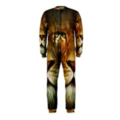Animals Digital Animated Lion OnePiece Jumpsuit (Kids) by Zeze