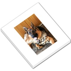 German Shepherd Spoiled Rotten Small Memo Pads by TailWags